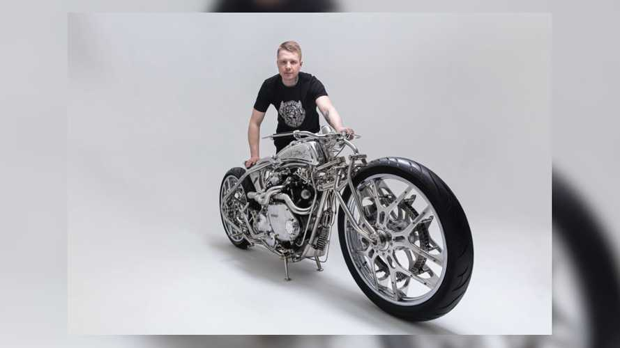 This Vincent-Powered Custom Is A Rolling Metal Symphony