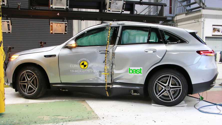 Euro NCAP Crash & Safety Tests of 2019 Mercedes-Benz EQC