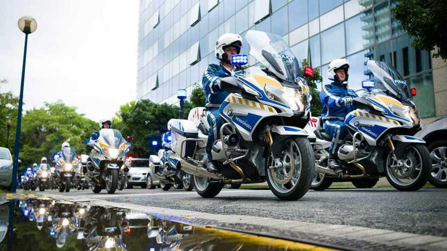 Új szolgálati motorokkal bővítette flottáját a rendőrség
