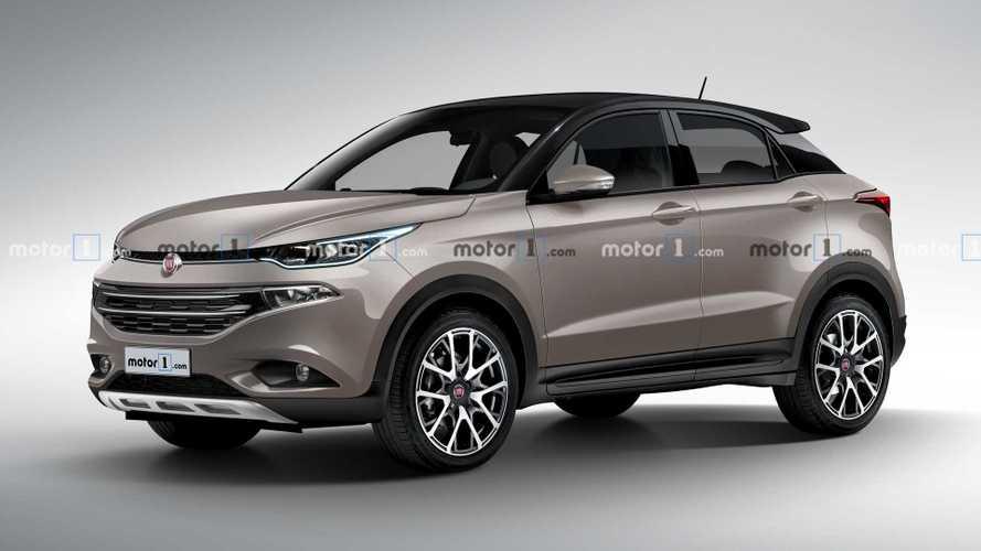 Projeção: SUV da Fiat chega em 2021 com base de Argo e motor turbo