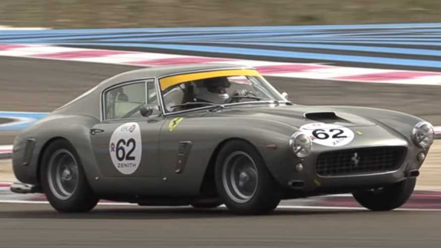 Watch A 1961 Ferrari 250 GT Berlinetta SWB Flogged On A Track