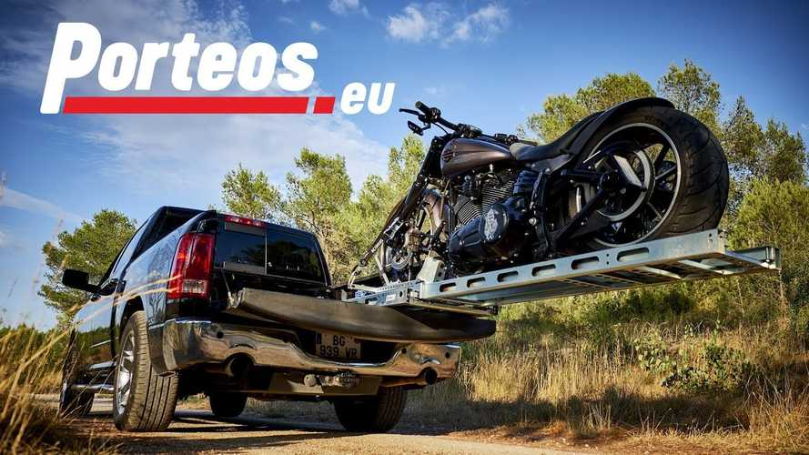 Porteos Self-Loading Motorcycle Ramp Launches Crowdfunding