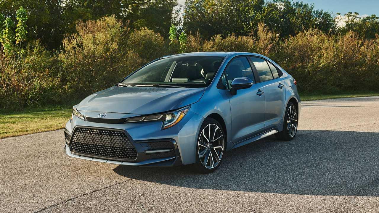2020 Toyota Corolla Front Profile