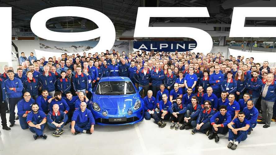La dernière Alpine A110 Première Édition sort d'usine
