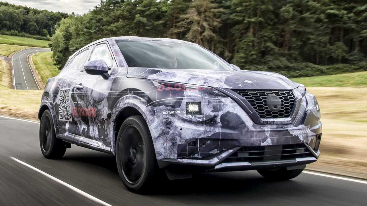 2020 Nissan Juke Prototypes