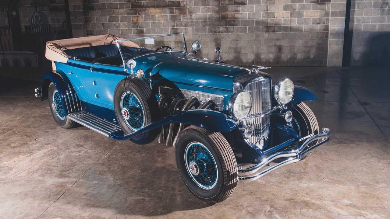1930 Duesenberg Model J Convertible Sedan by Murphy RM