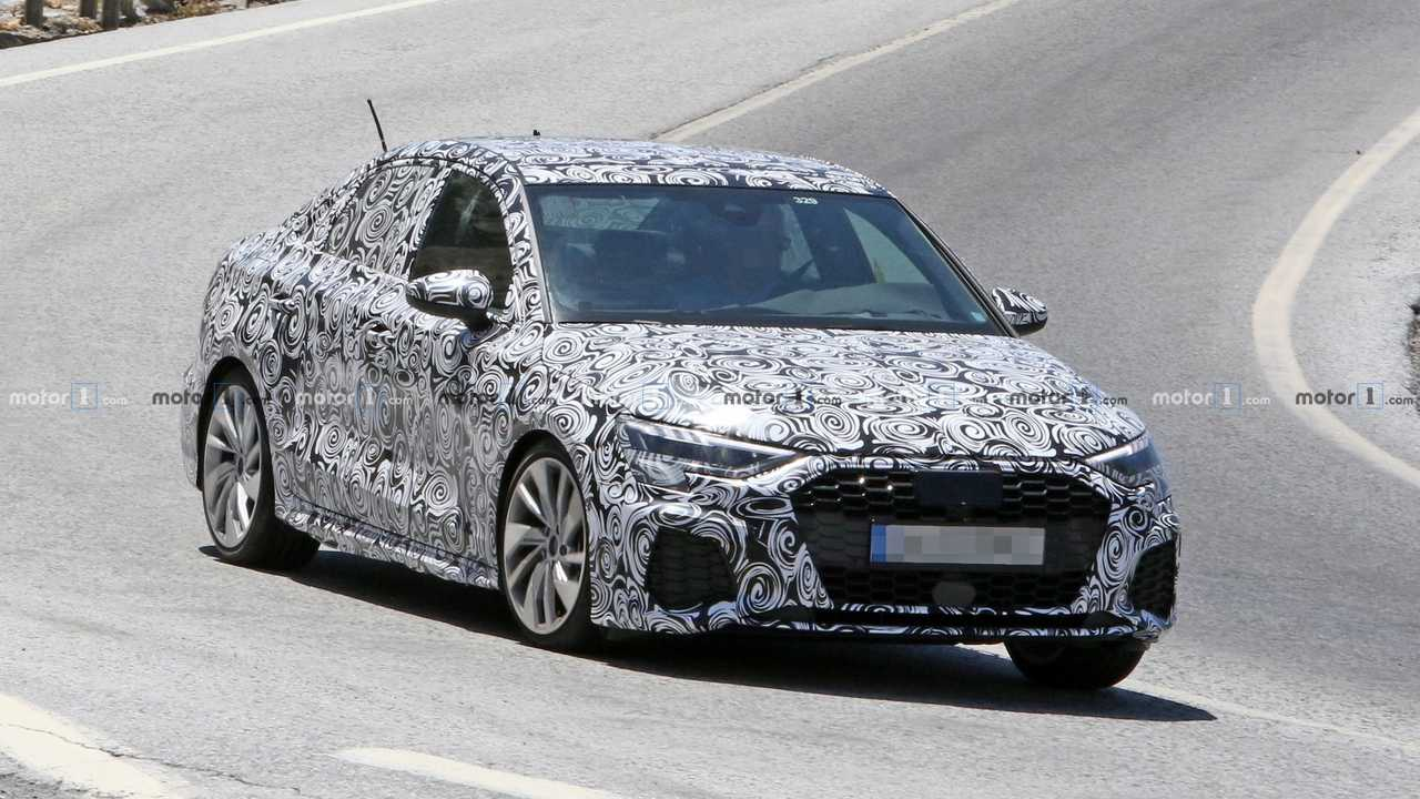 Neue Audi A3 Limousine 2020 In S Line Optik Erwischt