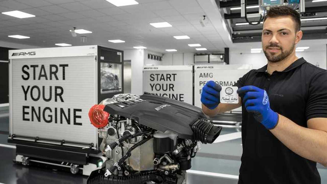 Moteur Mercedes-AMG 2,0 litres M 139