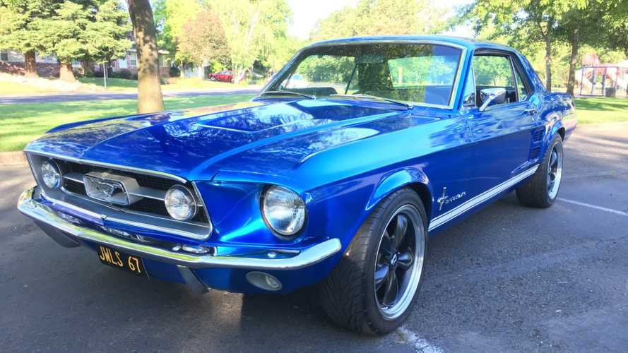 Handsome 1967 Restomod Mustang Is A Vision In Blue