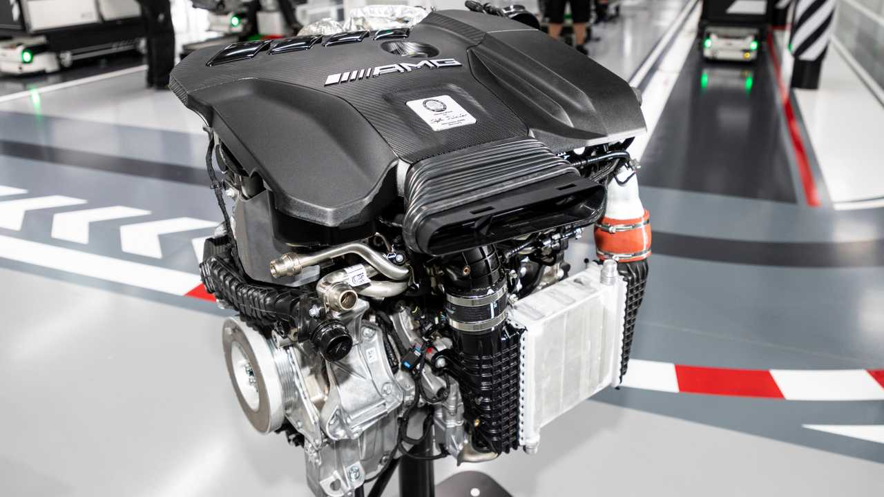 Mercedes-AMG M139 motor 4 cilindros