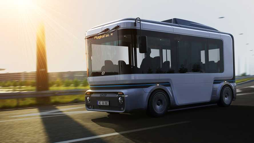 e.Go Mover: Autonomer Shuttle-Bus mit Elektroantrieb von ZF