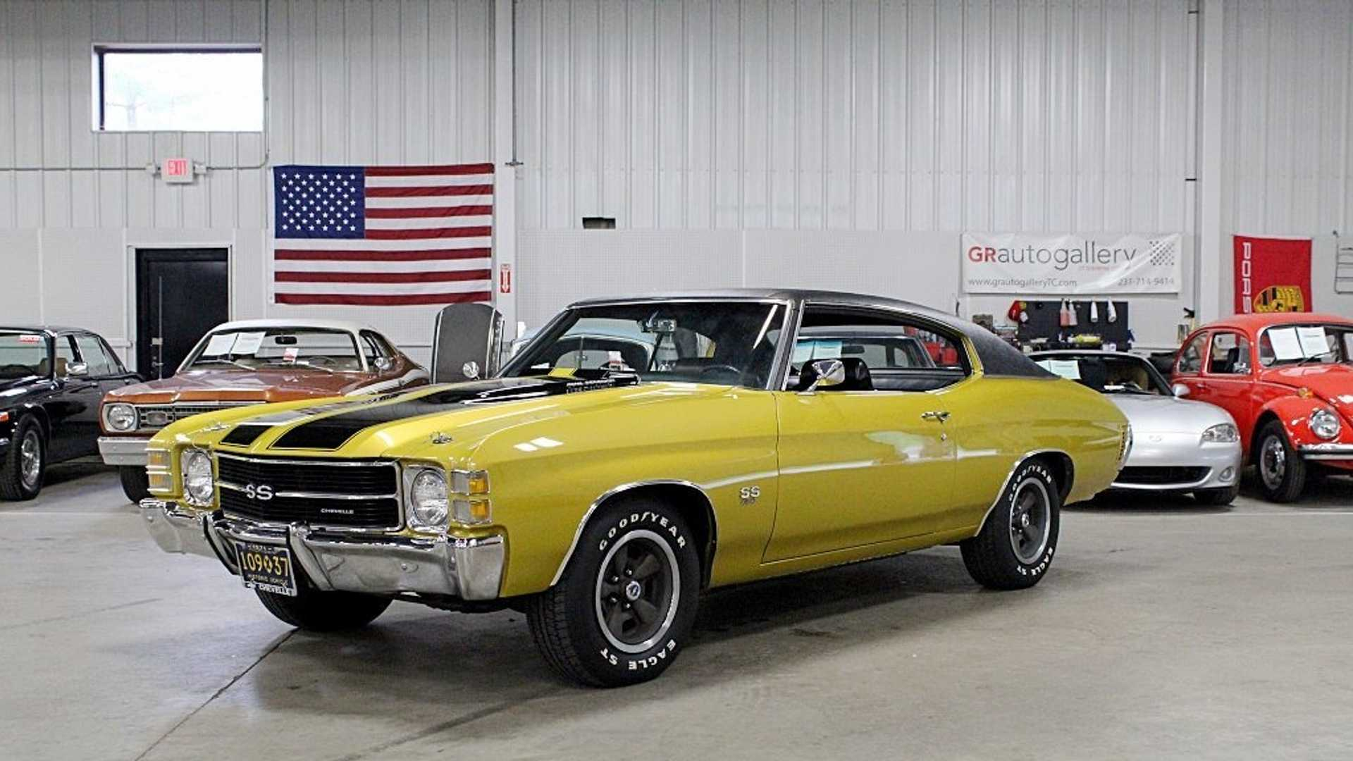 "[""Placer Gold '71 Chevrolet Chevelle SS Is Ready To Run""]"