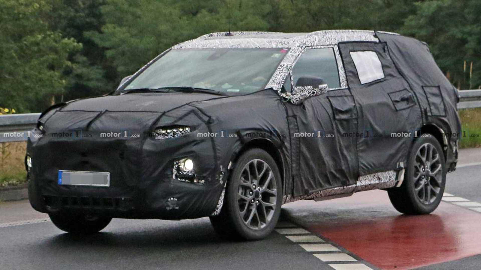 2018 - [Chevrolet] Blazer - Page 2 Chevrolet-blazer-xl-spy-shots