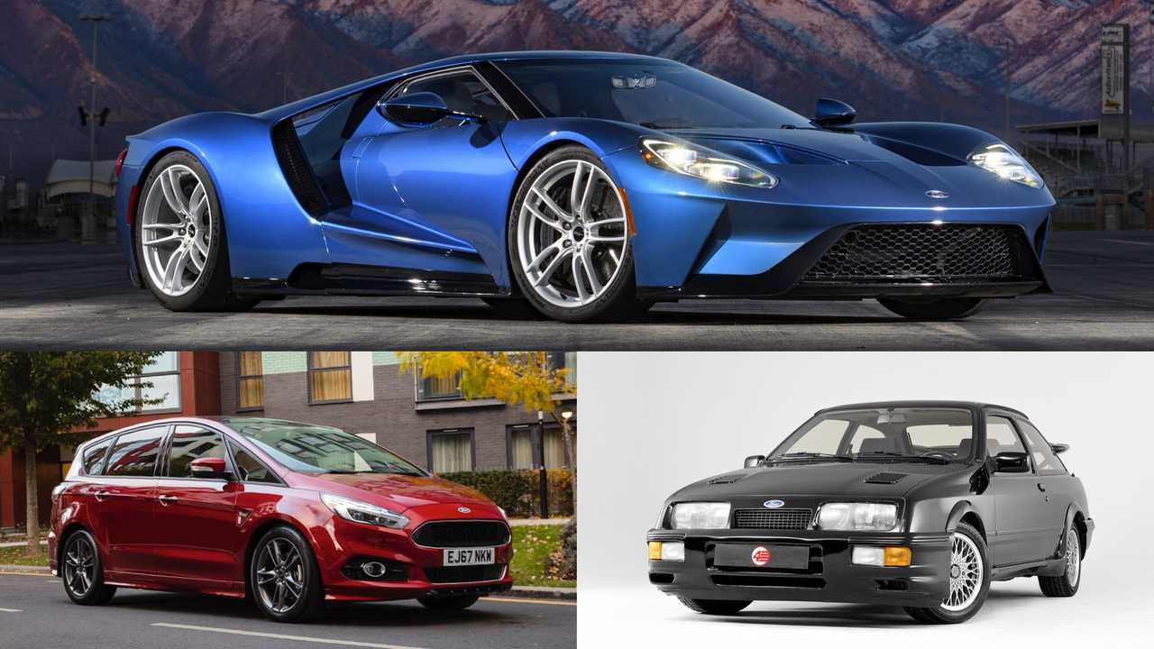 Ford: GT, S-Max, Sierra RS Cosworth
