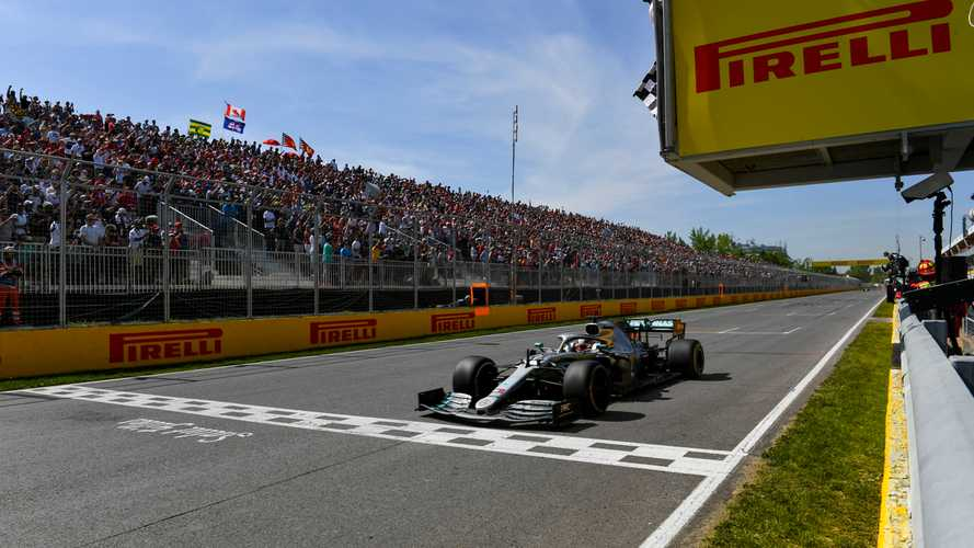 Canadian GP: Hamilton wins after controversial Vettel penalty