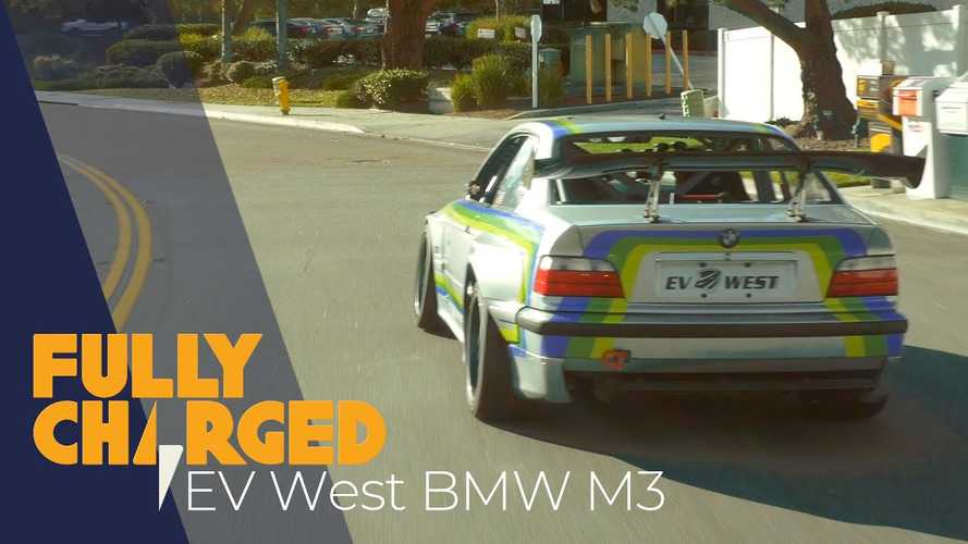 Fully Charged Takes EV West Electric Converted BMW M3 For A Spin