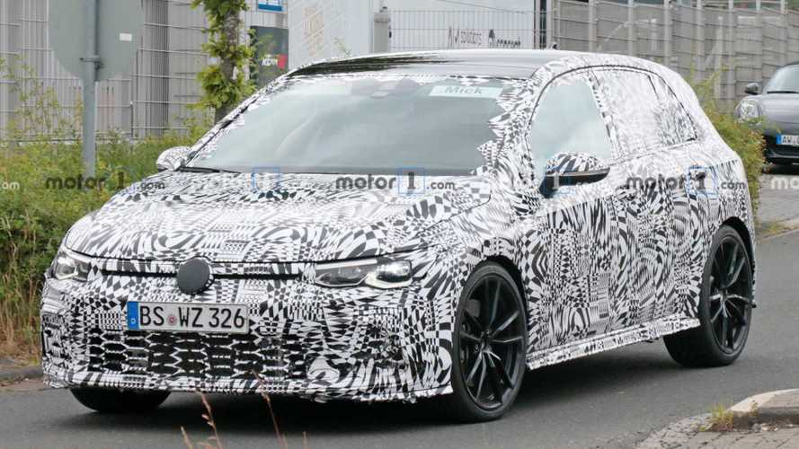 2021 VW Golf GTI Caught At The 'Ring Perfecting Hot Hatch Recipe