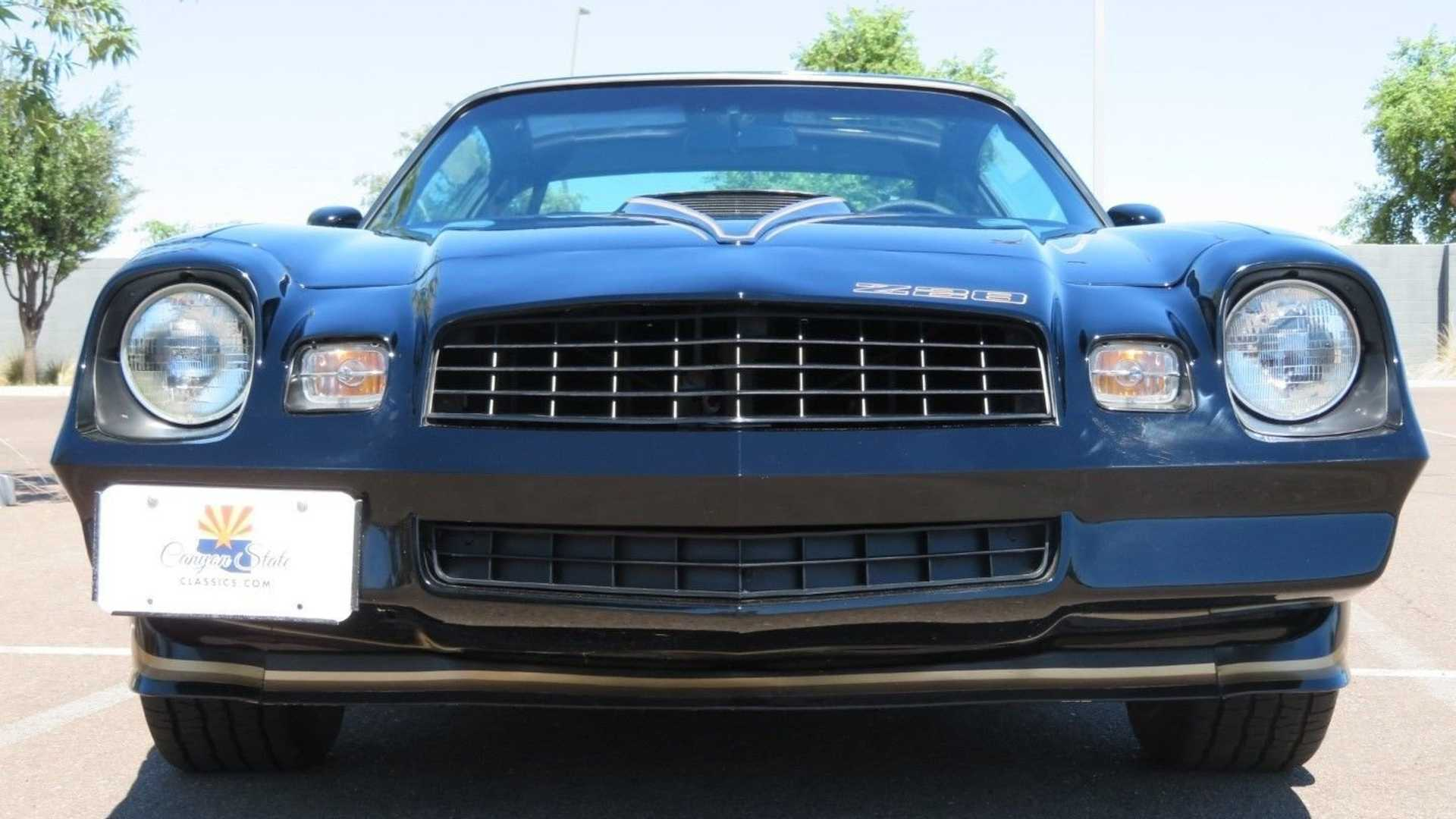 "[""Observe This Low-Mile 1979 Chevrolet Camaro Z28""]"