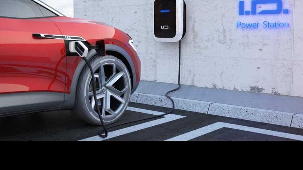 Volkswagen elettriche ricarica