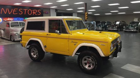 A 1969 ford bronco will make you feel like exploring