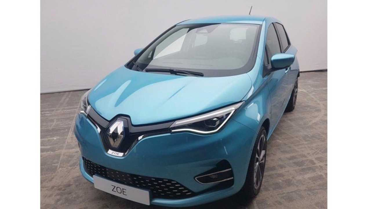 Tesla Home Battery >> New Renault ZOE Photo Leaked Ahead Of Expected Debut On June 17