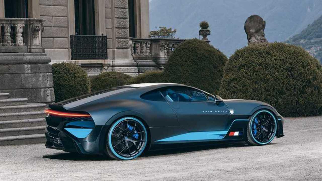 Bugatti Divo moteur avant par Rain Prisk