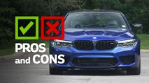 2019 bmw m5 competition pros cons