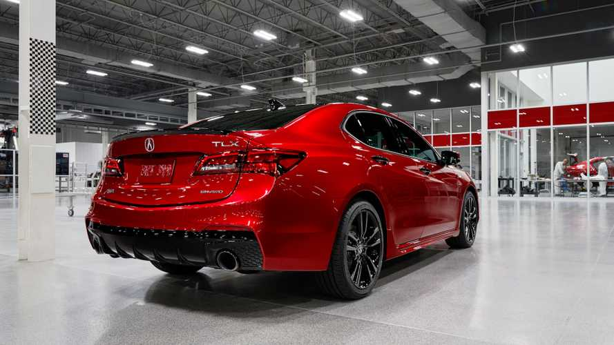 Acura Announces Pricing For Handbuilt TLX PMC Edition