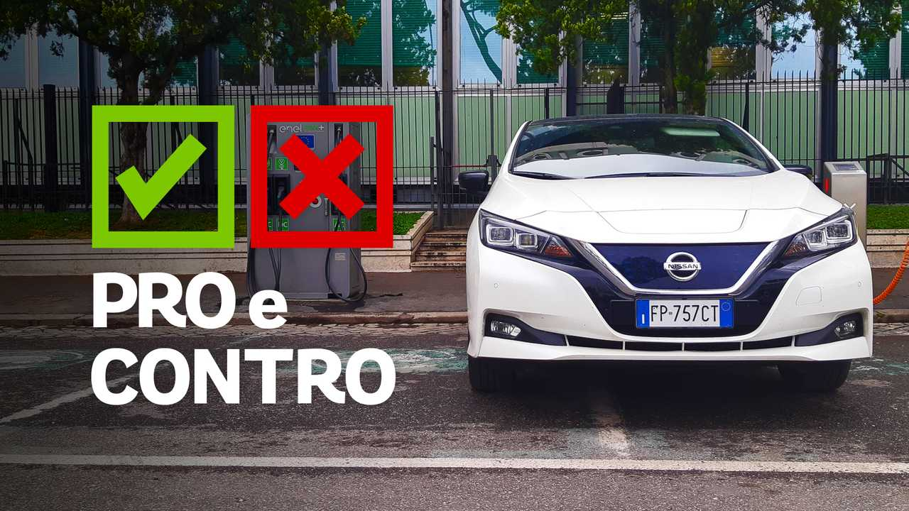 Nissan Leaf Business 40 kWh Pro e Contro