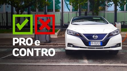 Nissan Leaf Business 40 kWh, pro e contro