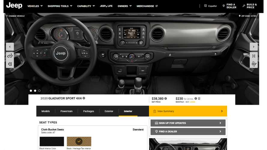 Jeep Gladiator Lease Deals