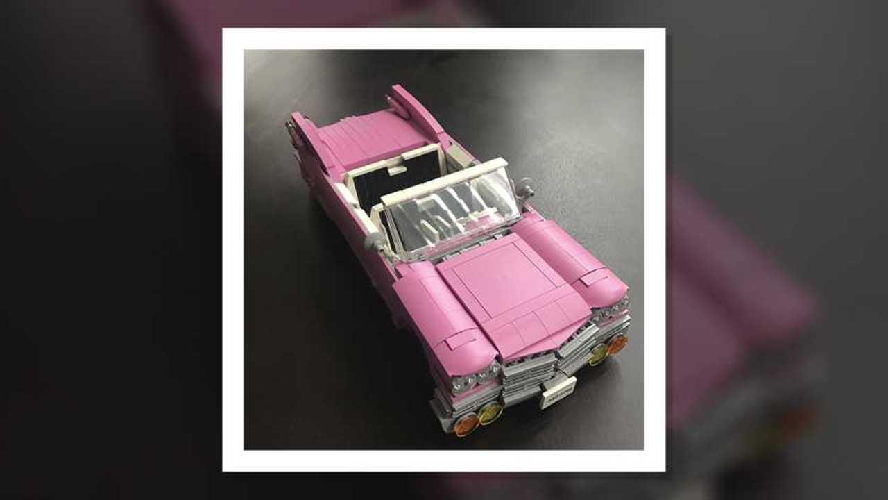 Cadillac rosa de 1959 by Lego Ideas