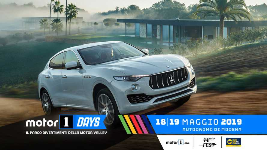 Maserati ai Motor1Days, in pista, su strada e offroad