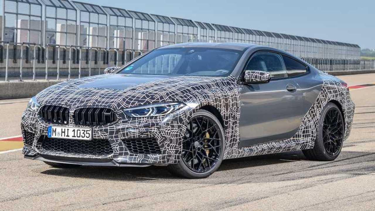 2020 BMW M8 teaser