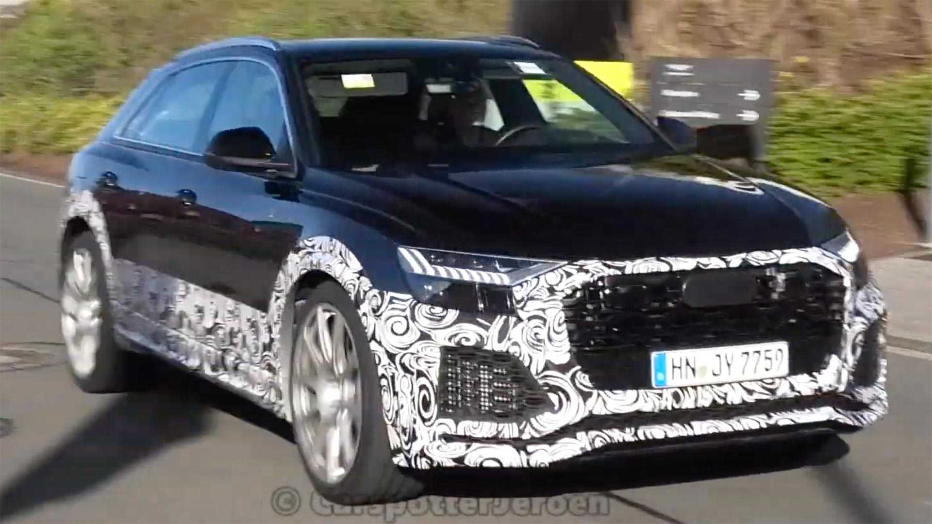 2020 Audi Q8: News, SQ8, RS Q8, Price >> Audi Rs Q8 Spied Looking Very Quick At The Ring