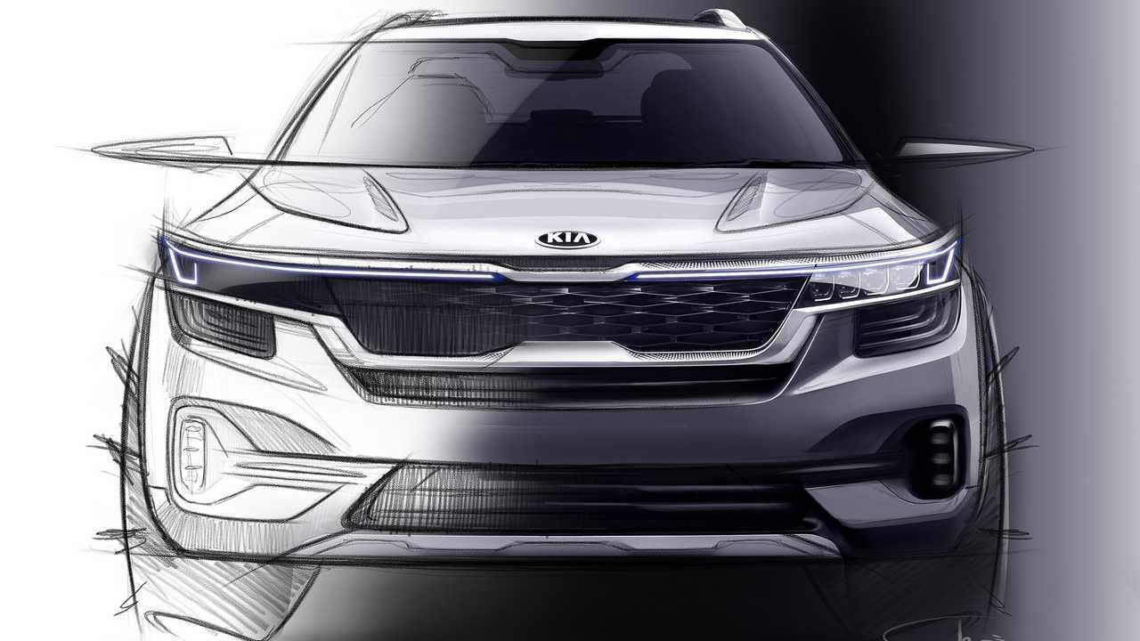Kia small SUV teaser