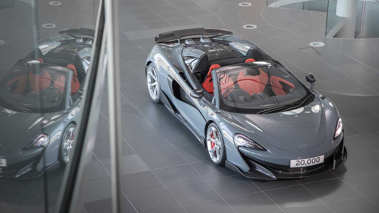 20,000th MPC McLaren 600LT Spider