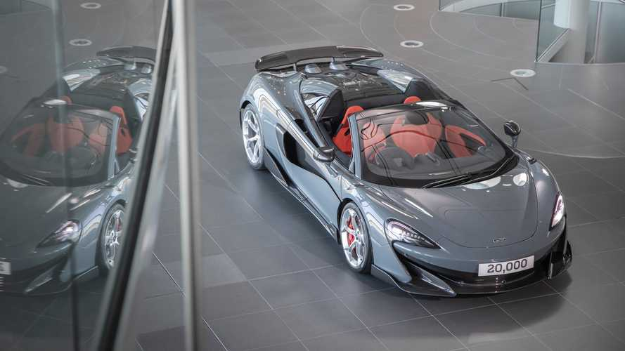 Milestone McLaren 600LT Marks 20,000th Car Produced AT MPC