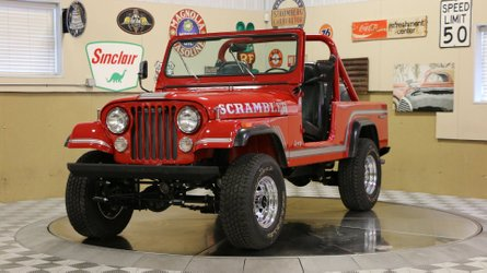 Fully restored canyon red 1985 jeep cj 8 scrambler is a keeper