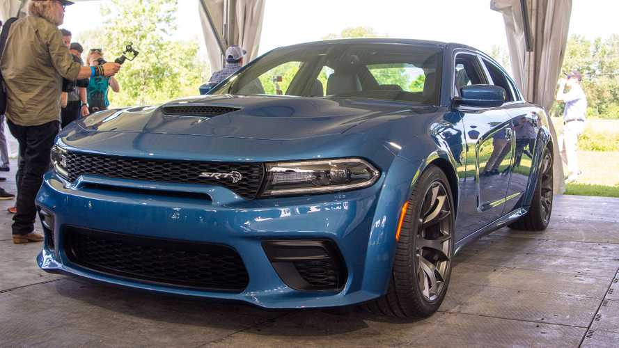 2020 Dodge Charger SRT Hellcat Widebody and 2020 Dodge Charger Scat Pack Widebody