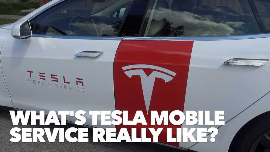 Here's What Tesla's Mobile Service Is Really Like