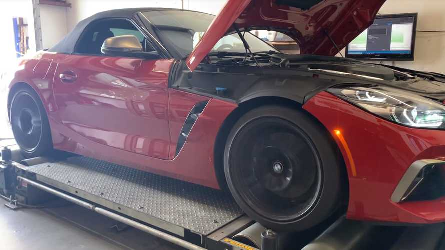 2020 BMW Z4 Tested On Dyno To Reveal Hidden Power