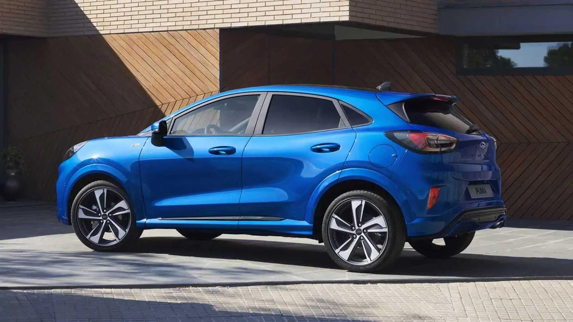 Penetrazione tutta la vita meccanico  Nuova Ford Puma, spazio alla versatilità
