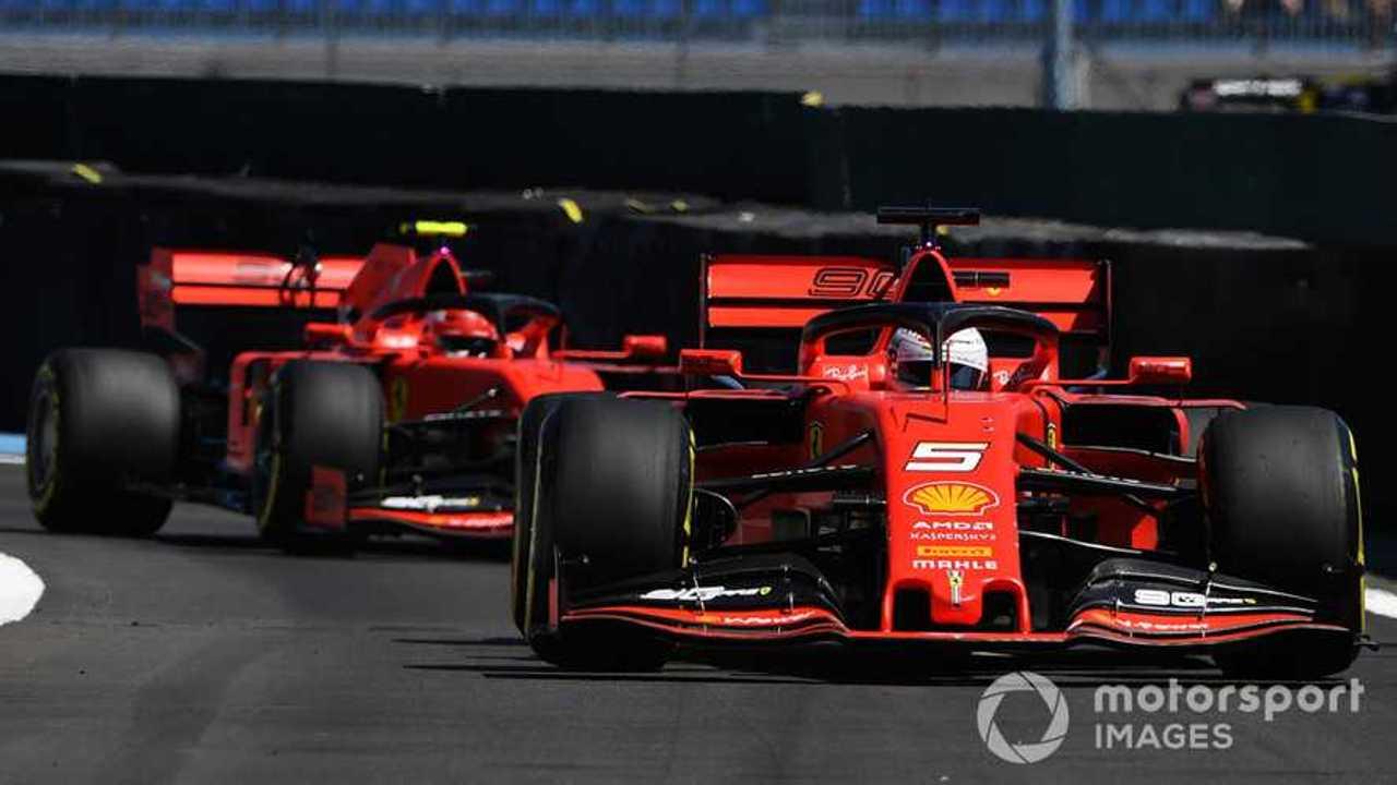 Ferrari at French GP 2019