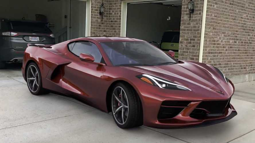 Mid-engined Corvette 'walkaround' video looks like the real thing