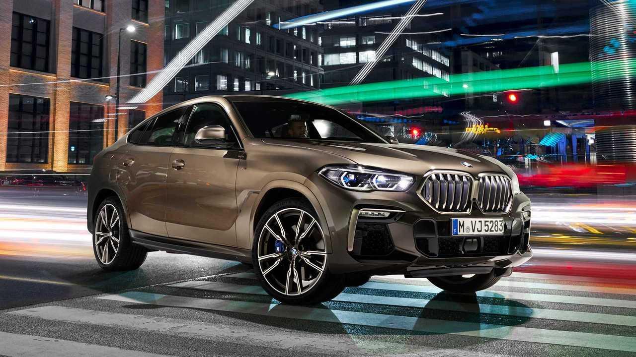 Nuova BMW X6 2019
