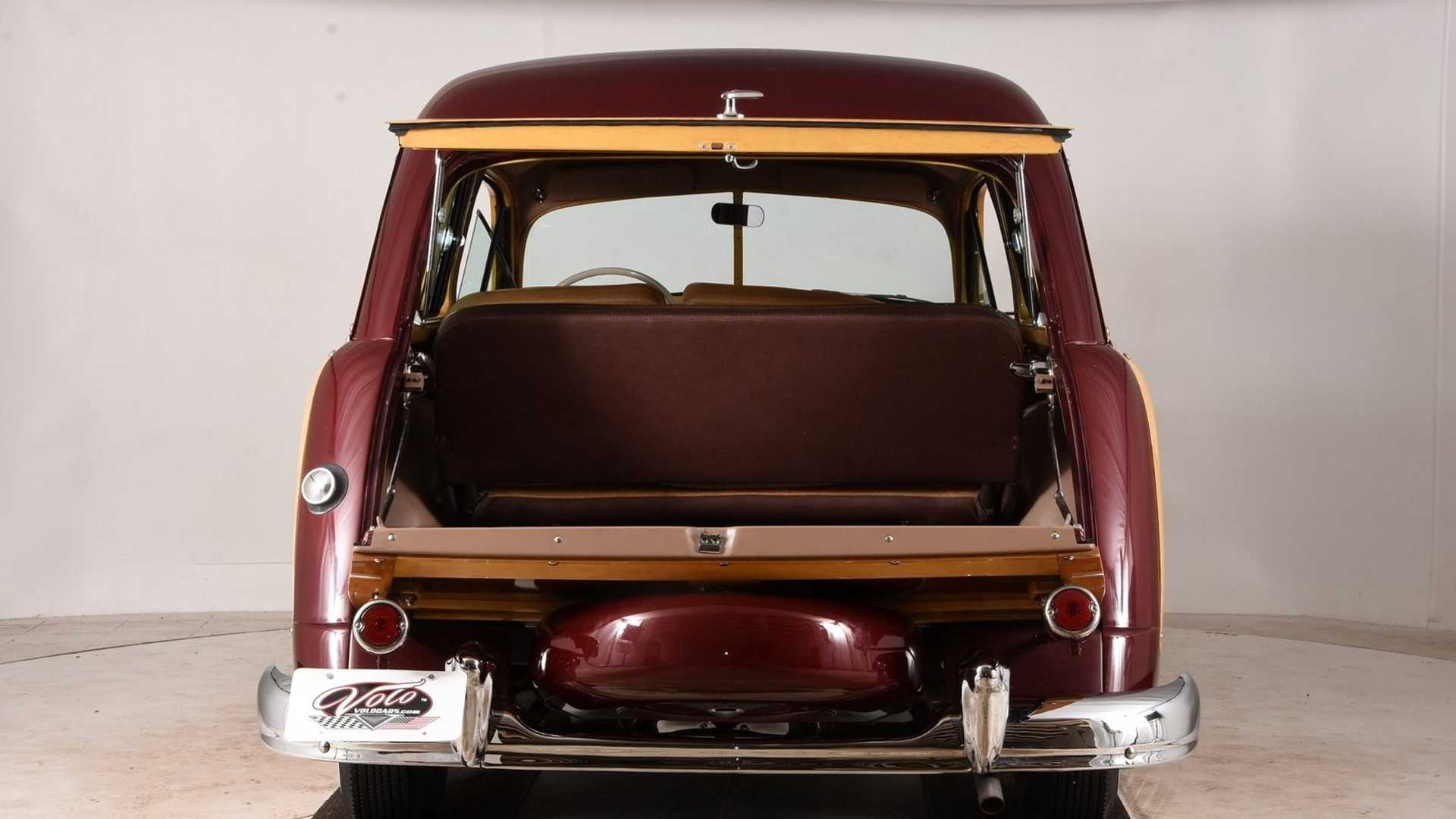 "[""1949 Ford Country Squire With Total Frame Off Restoration""]"