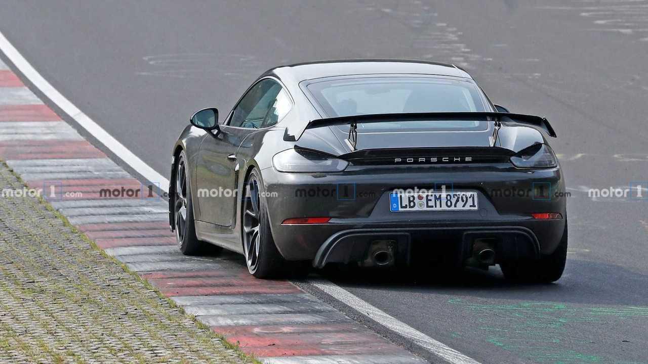 2020 Porsche Cayman GT4 Shows Too Much Skin In Latest Spy Shots