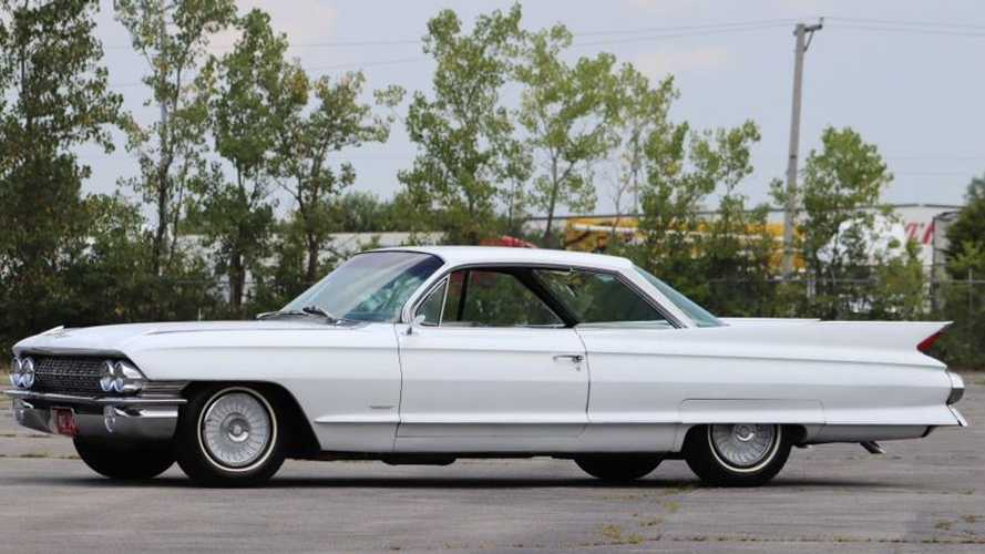 1961 Cadillac 62 Two-Door Coupe Is Large And In Charge