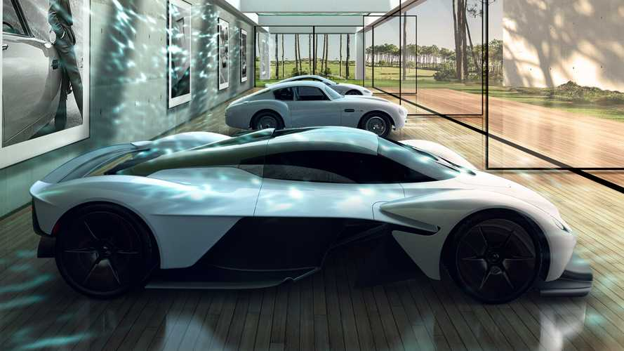 Aston Martin reveals fancy garage design for one-percentres